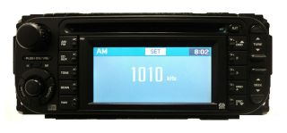 05 06 07 CHRYSLER DODGE JEEP RB1 Navigation GPS Radio CD Player w/Disc