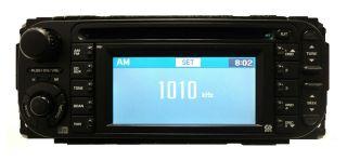 05 06 07 CHRYSLER DODGE JEEP RB1 Navigation GPS Radio CD Player w/Disc