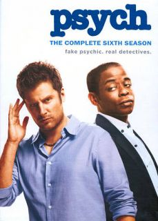 Psych The Complete Sixth Season DVD, 2012, 4 Disc Set