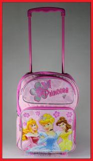 16 disney princess rolling backpack rolle r girls bag