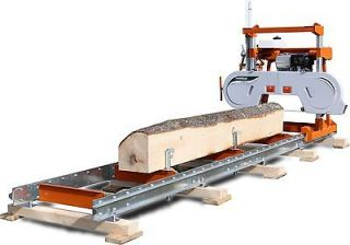 SAWMILLS – NEW MANUAL BAND SAWMILL (CONVERTIBLE TO PORTABLE) BY