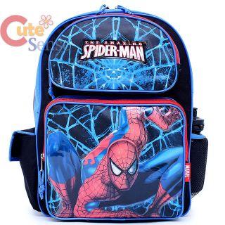 Marvel Spider Man School Backpack Large Bag 16 SpiderMan BRAND NEW