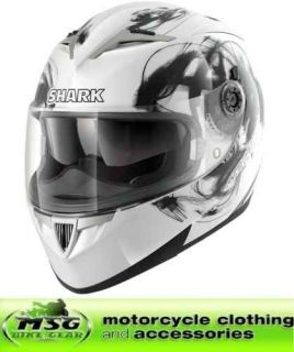 shark s900 glow motorcycle crash helmet large wkw new from