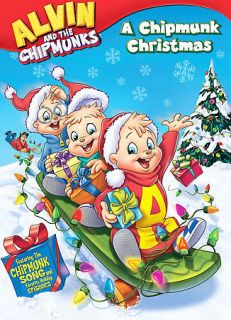 Chipmunks: A Chipmunk Christmas by June Foray, Shepard Menken, R.J