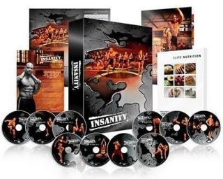 newly listed shaun t 60 day insanity workout complete 13