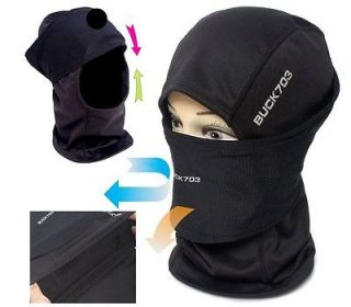 Balaclava FULL FACE Mesh MASK Neck Warmer Hood Outdoor Sports Stretch