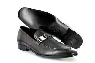 New Salvatore Ferragamo Mens Shoes Francisco Side Ornament Loafer