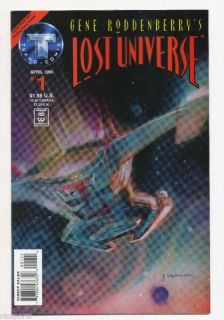 gene roddenberry s lost universe comic book 1 issue  18 00