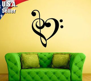 music notes wall decor in Decals, Stickers & Vinyl Art