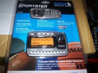 sirius sportster sp r1 in Portable Satellite Radios
