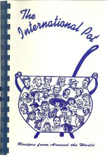 RALEIGH NC 1994 INTERNATIONAL POT *ALL ETHNIC GOURMET RECIPES COOK
