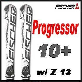 11 12 Fischer Progressor 10+ C Line Skis 165cm w/C Line Z 13 NEW
