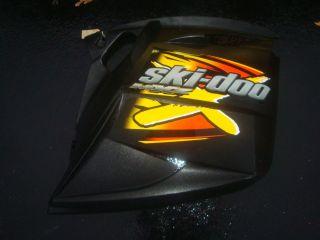 SKI DOO REV BLACK SIDE BODY PANEL RIGHT X PACKAGE MXZ 600HO 800 ROTAX
