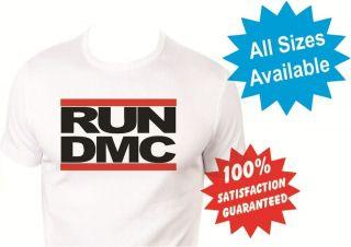 run dmc boys girls kids T Shirt New White Custom Print Tee
