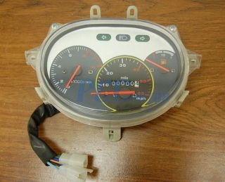 GY6 50cc Scooter Moped Speedometer Light Gas Gauge Jonway Roketa Sunl