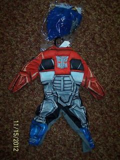Childrens Costume Transformer Rescue Bots Optimus Prime Toddler Kids