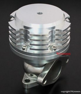38MM Turbo Stainless Steel Wastegate 7 PSI SILVER