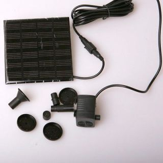 Newly listed Fountain Water Pump + Solar Power Panel Kit for Garden