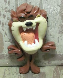 Cool Looney Tunes Taz Tasmanian Devil AM/FM Radio 1998 Works