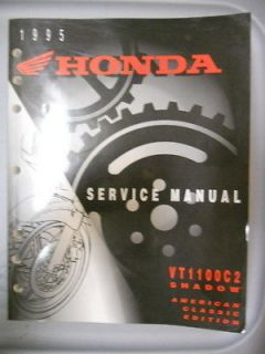 Honda Factory Service Repair Shop Manual 1995 VT1100 C2 Shadow