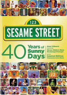 Sesame Street 40 Years of Sunny Days DVD, 2009, 2 Disc Set