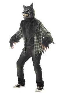 Full Moon Madness Big Bad Howling Wolf Adult Costume sizeLarge