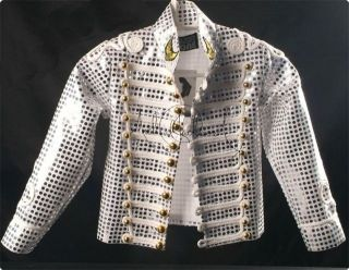 Michael Jackson AWARDS History World Tour Shinning JACKET MJ PARTY