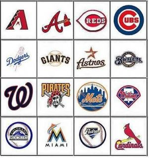 MLB Baseball Nail Decals Set of 20   Choose from 16 designs