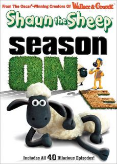 Shaun the Sheep Season One DVD, 2010, 2 Disc Set