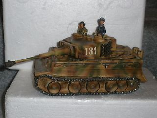 King & Country WW2 German WS 25 Tiger 1 Tank & Crew SUPER RARE RETIRED