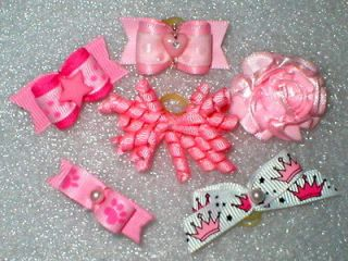 Bows~Puppy Starter Set Boy / Girl for Yorkie, Shih tzu, Maltese Lhasa