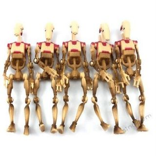 new lot 5 pcs star wars battle droid security power