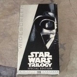 Star Wars Trilogy (VHS, Special Edition   Platinum Widescreen Edition)