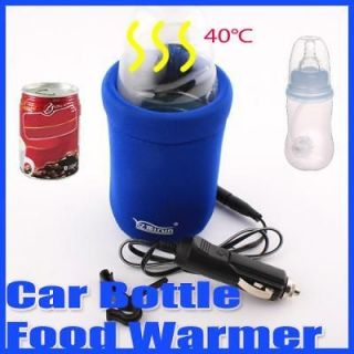 new 12v universal travel baby bottle warmer heater in car