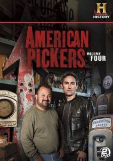 american pickers volume 4 new sealed 2 dvd set in
