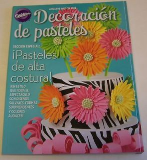 wilton yearbook 2013 cake decorating spanish 248 pages new time