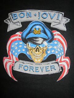 80s BON JOVI Shirt AMAZING SOFT ORIGINAL rare concert tour band rock