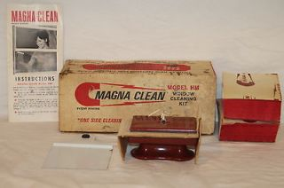 vintage magna clean model hm window cleaning kit in box