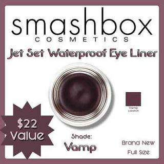 SMASHBOX JET SET WATERPROOF EYE LINER • VAMP (DEEP PURPLE) • NWOB