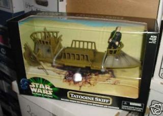 STAR WARS TATOOINE SKIFF LUKE TARGET EXCLUSIVE PLUS R2 D2 HOLO LEIA