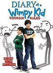Diary of a Wimpy Kid Rodrick Rules (Zachary Gordon) NEW DVD