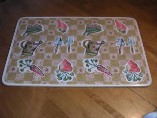 sultan s linens vinyl placemats with vegetables time left