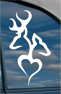 Doe Buck Hunting Vinyl Decal sticker wall art got fish truck rifle