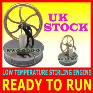 NEW LOW TEMPERATURE STIRLING ENGINE EDUCATIONAL TOY KIT UK STOCK