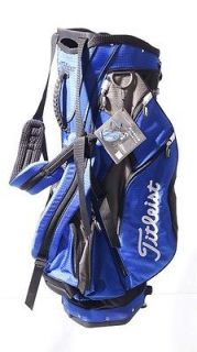 MINT with Tags Titleist Premium Golf Stand Bag   7 Way Top 10 Inch
