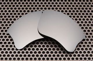 VL Polarized Silver Ice Replacement Lenses for Oakley Flak Jacket XLJ