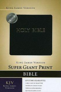 Super Giant Print Bible KJV 2008, Imitation Hardcover, Large Type