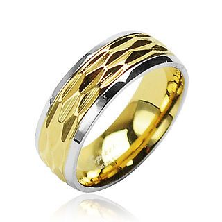 newly listed mens surgical stainless steel rings ip gold dia