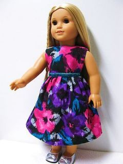 Newly listed American Girl Doll Clothes  Homemade Party Dress for 18