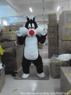 sylvester cat mascot costume fancy dress outfit epe